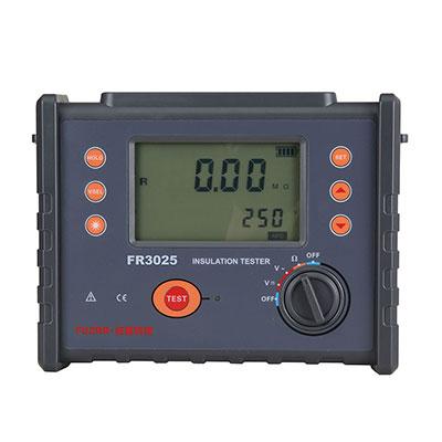 FR3025数字绝缘电阻表(兆欧表2500V)