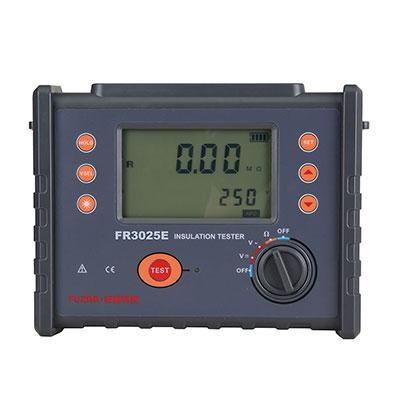 FR3025E数字高压绝缘电阻表(兆欧表5000V)