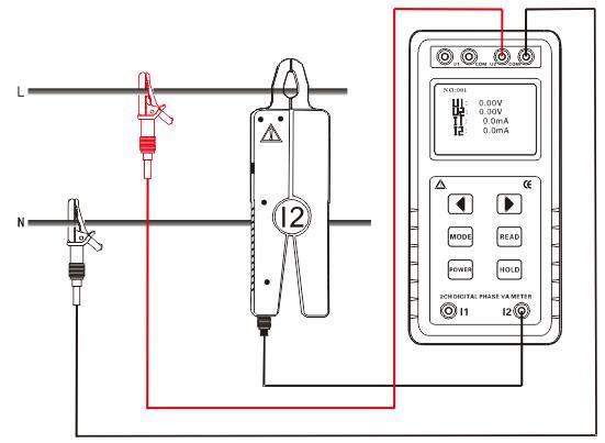 电能表相位频率的测量方法