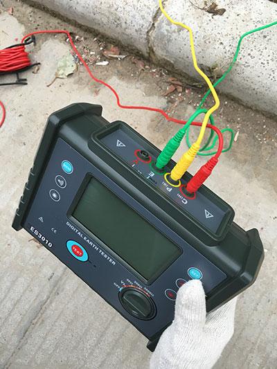 路灯接地电阻测量方法